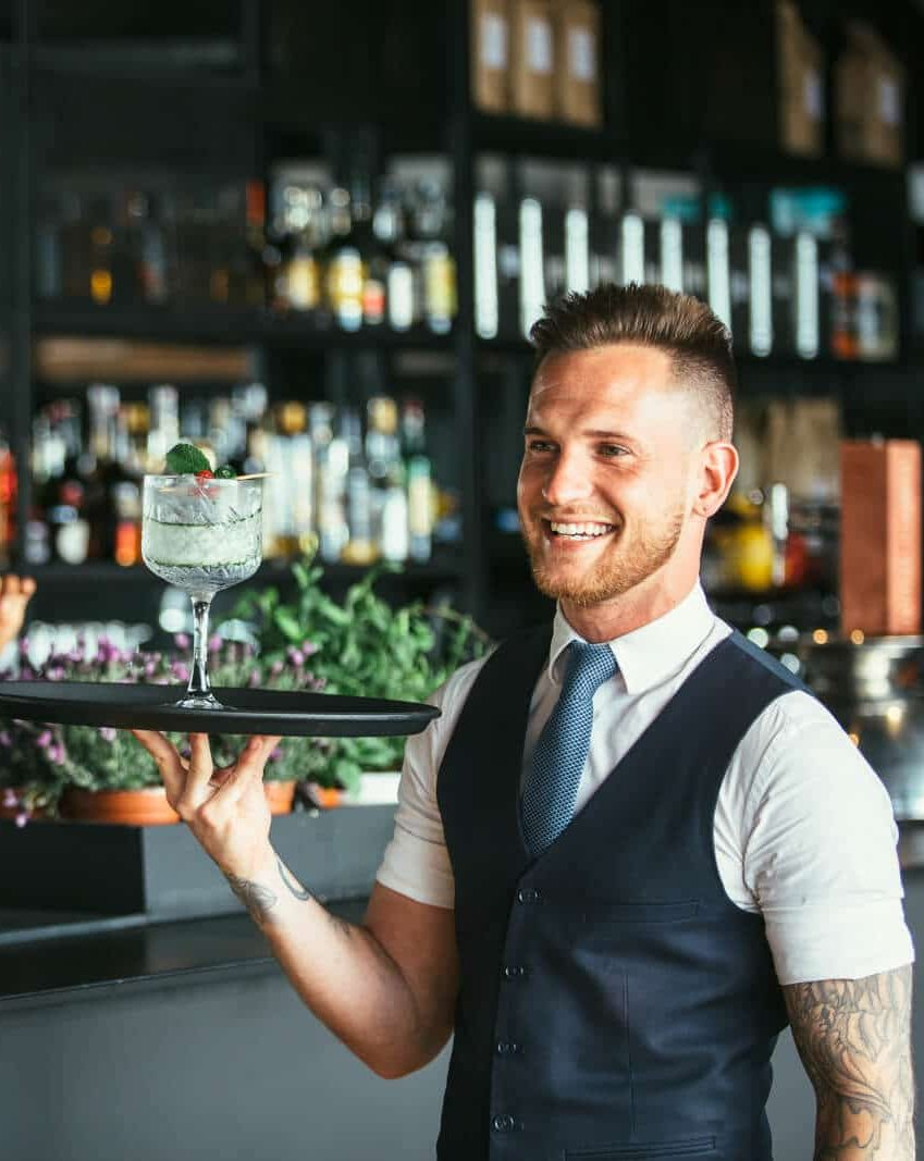 cocktail waiters for hire