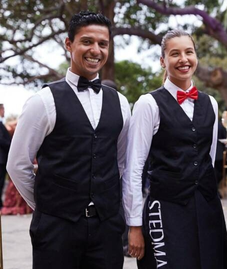 waiters for hire at home